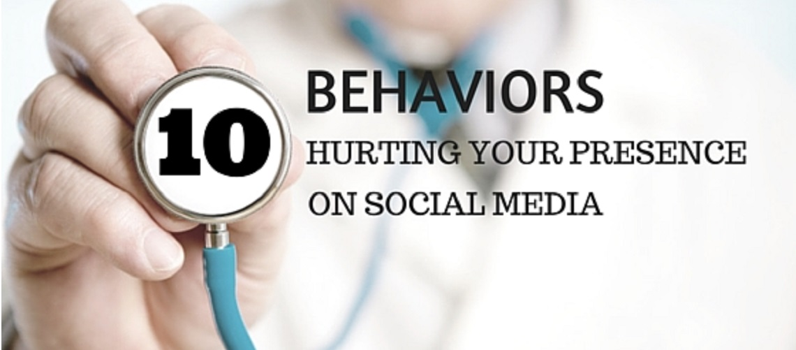 10 things hurting your presence on social media