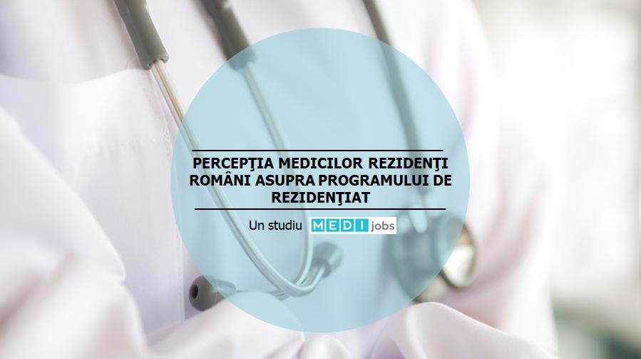 Studiu: cum percep medicii rezidenti programul de rezidentiat