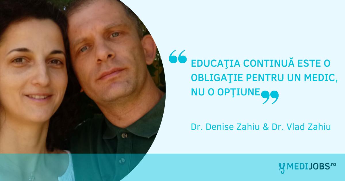 INTERVIU | Denise şi Vlad Zahiu – o familie de medici