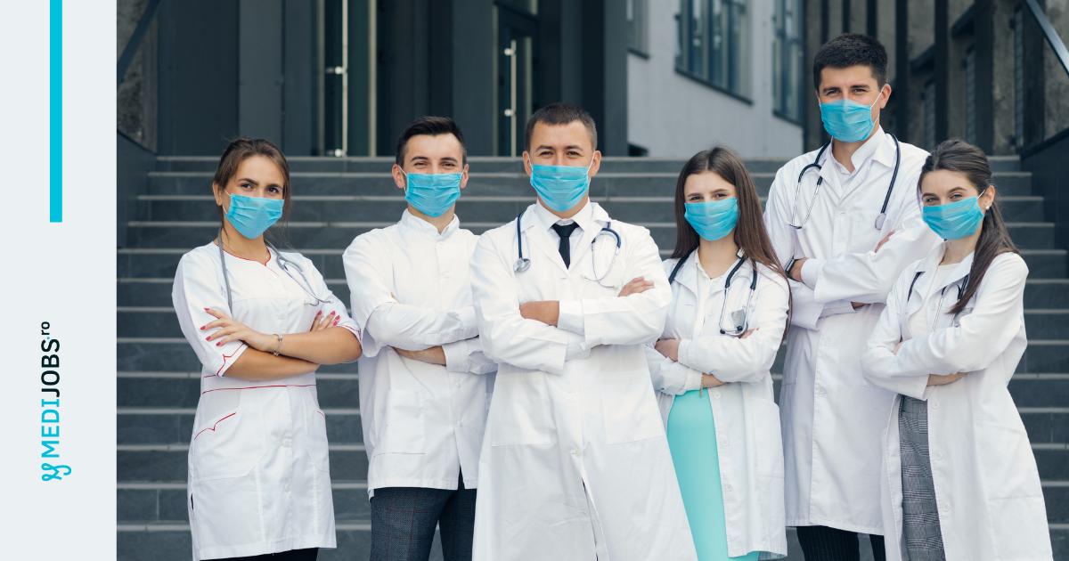 Top 10 joburi pentru medici: care sunt cele mai căutate specialități medicale, în pandemie?