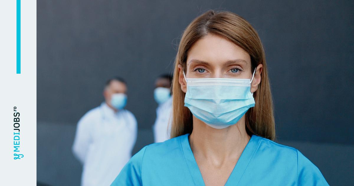 Studiu: Aproximativ 30.000 de angajați din sistemul medical au fost deja infectați cu COVID-19