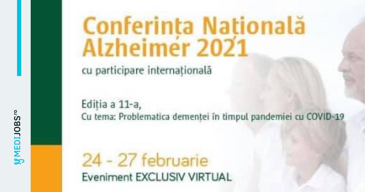 Conferința Națională Alzheimer