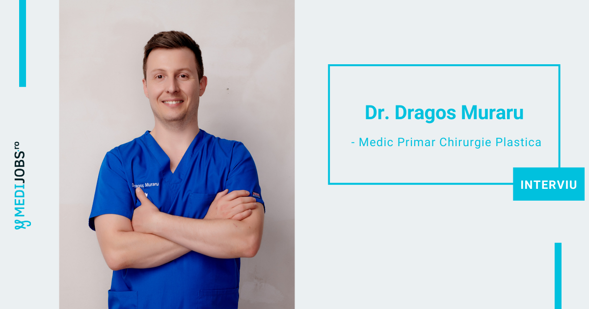 INTERVIU | Dr. Dragos Muraru, Medic Primar Chirurgie Plastica si Microchirurgie Reconstructiva