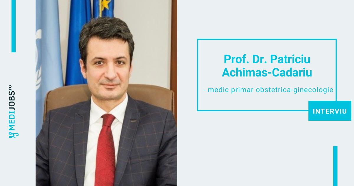 Prof. Dr. Patriciu Achimas-Cadariu