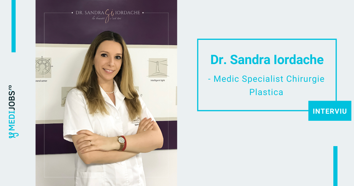 INTERVIU | Dr. Sandra Iordache, Medic Specialist Chirurgie Plastica, Estetica si Microchirurgie Reconstructiva: Nu cred in tipare sau standarde ale frumusetii, ci doar in frumusetea fiecaruia dintre noi