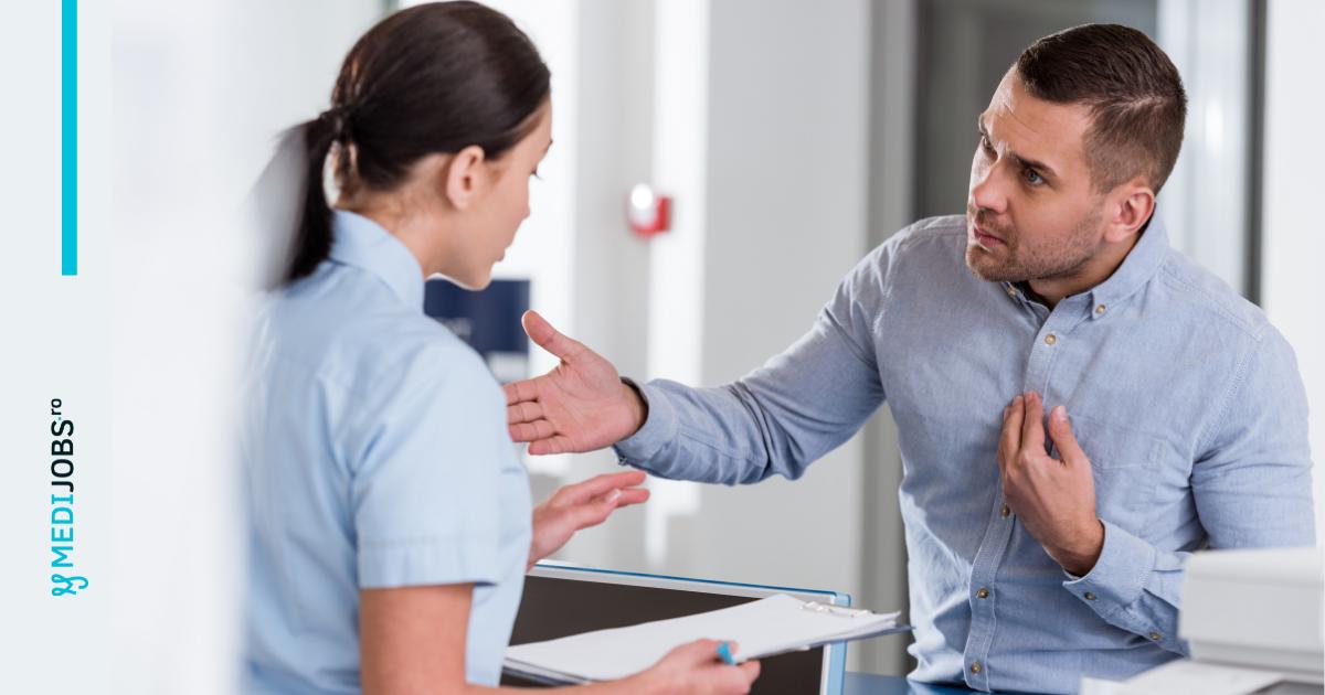 pacient agresiv